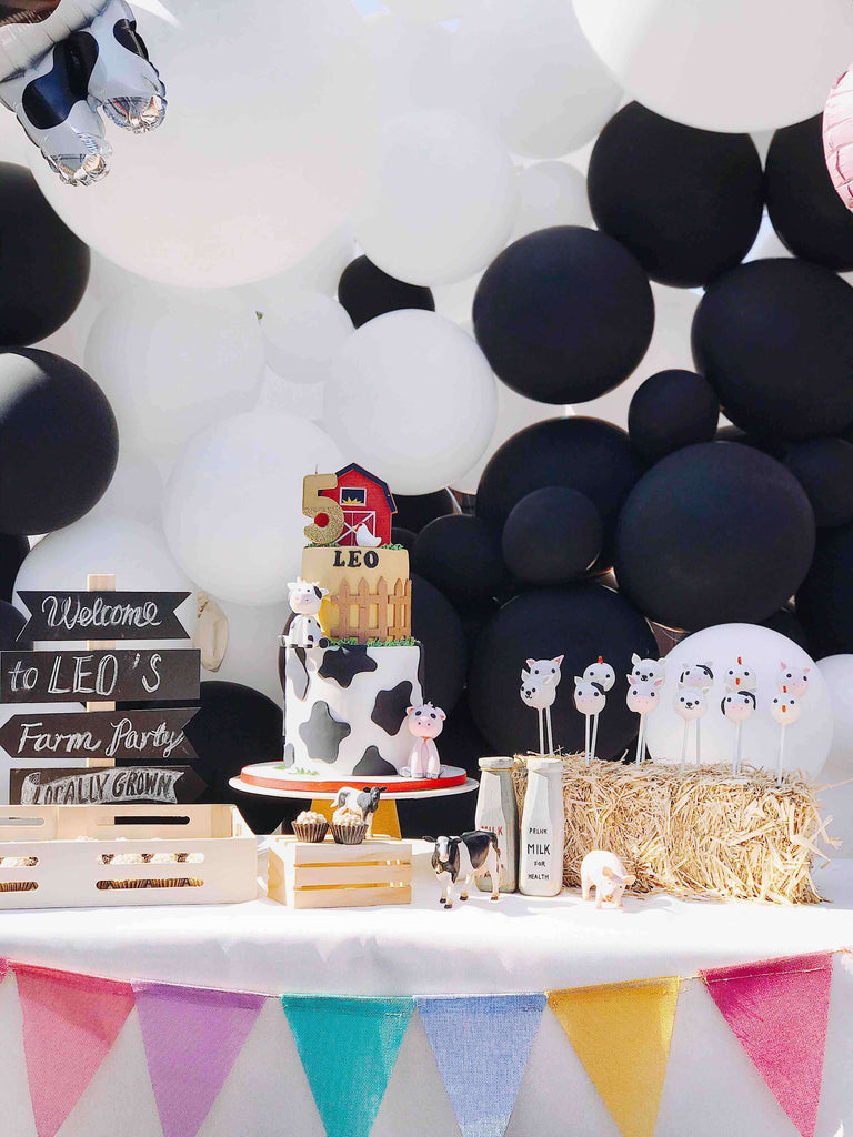 Kids Farm Birthday Party Dessert Ideas
