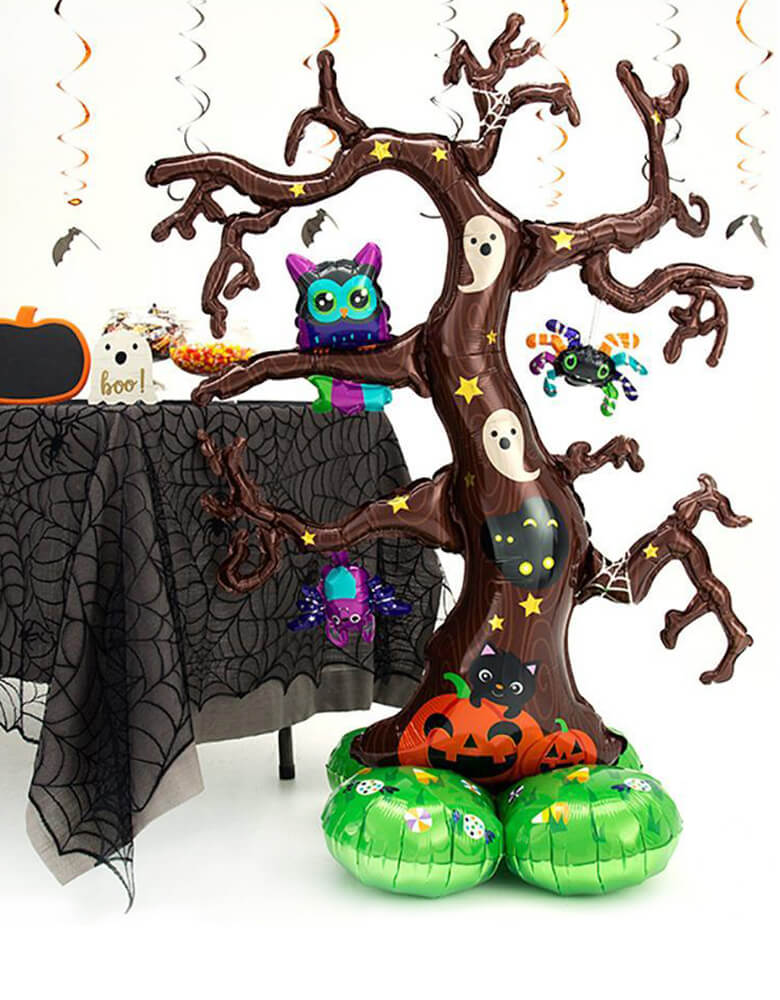 Safe Halloween Ideas Trunk or Treat Halloween Balloons by Momo Party