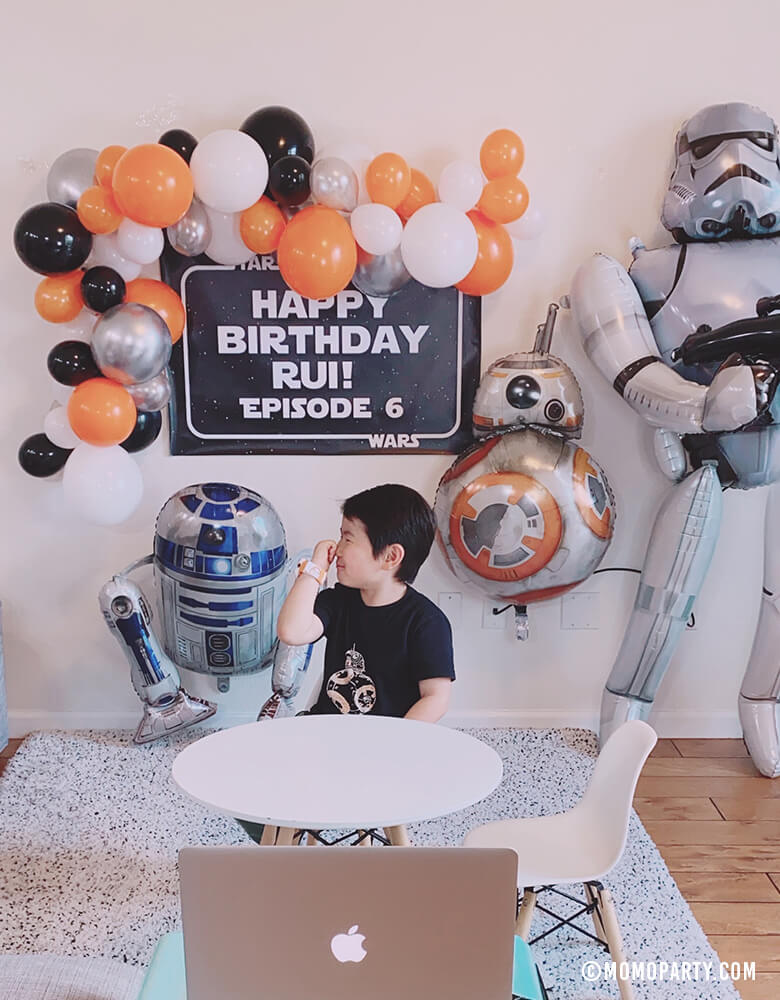 Star Wars Virtual Party Ideas for Boys