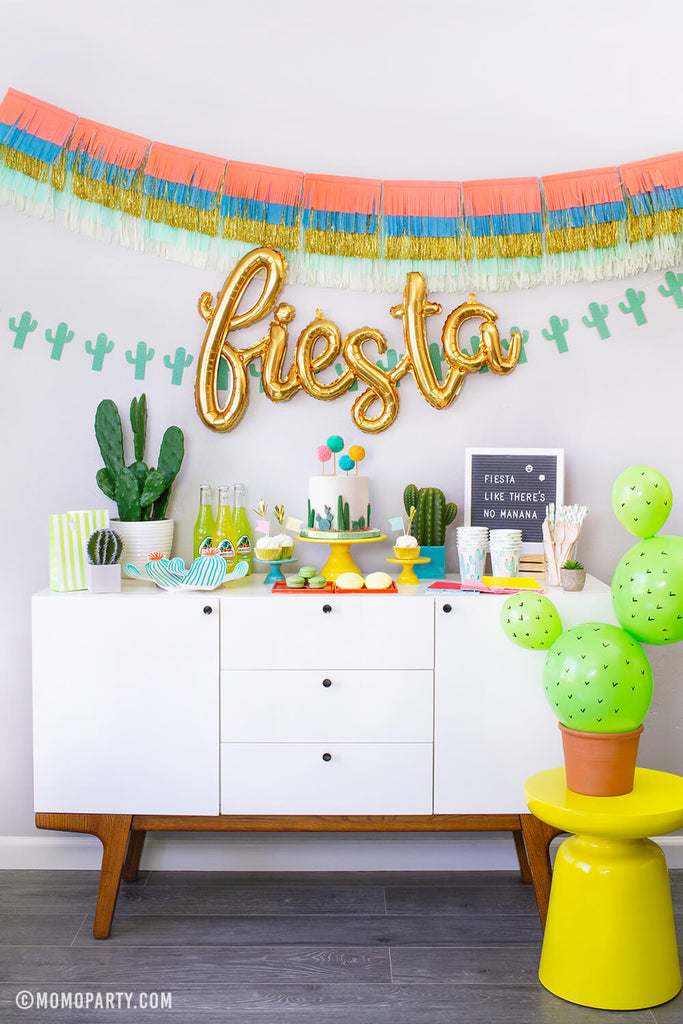 Cactus Fiesta Party Box by Momo Party