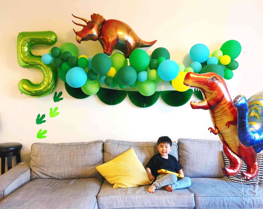 Shelter in Place_Virtual Birthday Party Ideas_Kids Dinosaur Birthday Party at Home