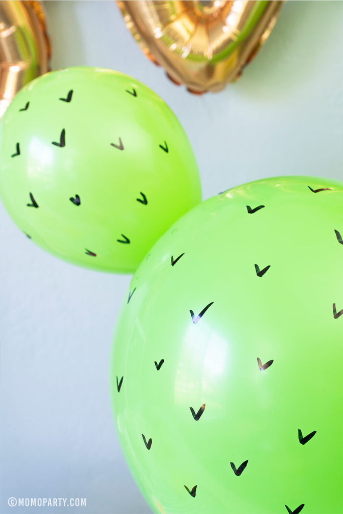 Fiesta Cactus Balloon Decoration DIY Step 4