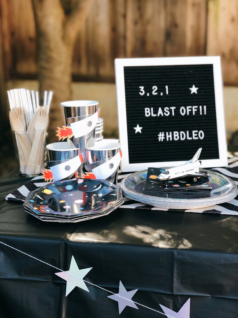 First Birthday Party Ideas_Space Themed