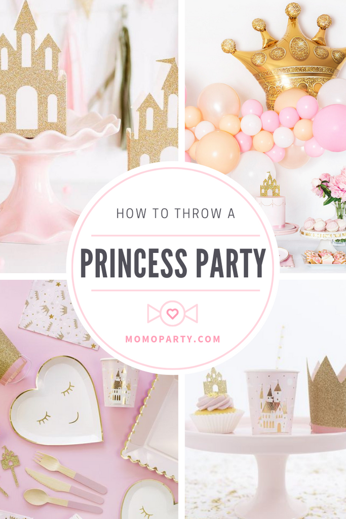 First Birthday Party Ideas for Girls_Princess Theme