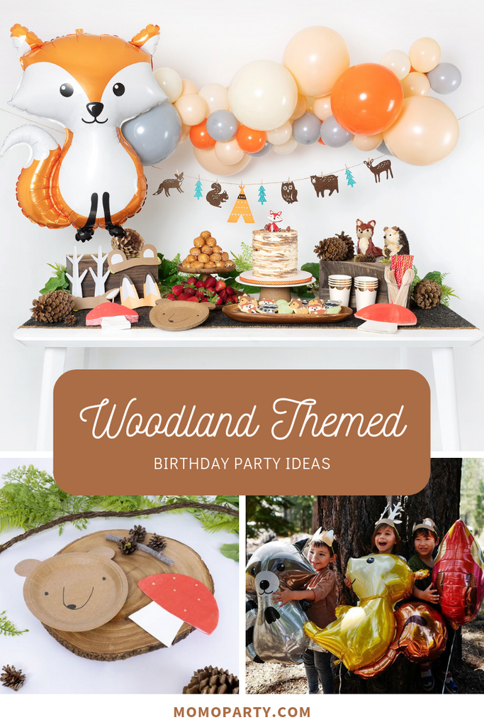 Kids Woodland Themed Party Ideas