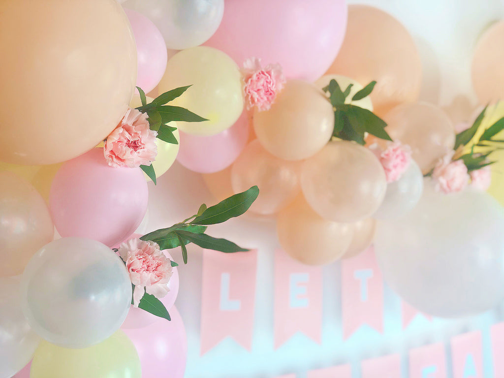 Floral Balloon Cloud Tutorial Final Step