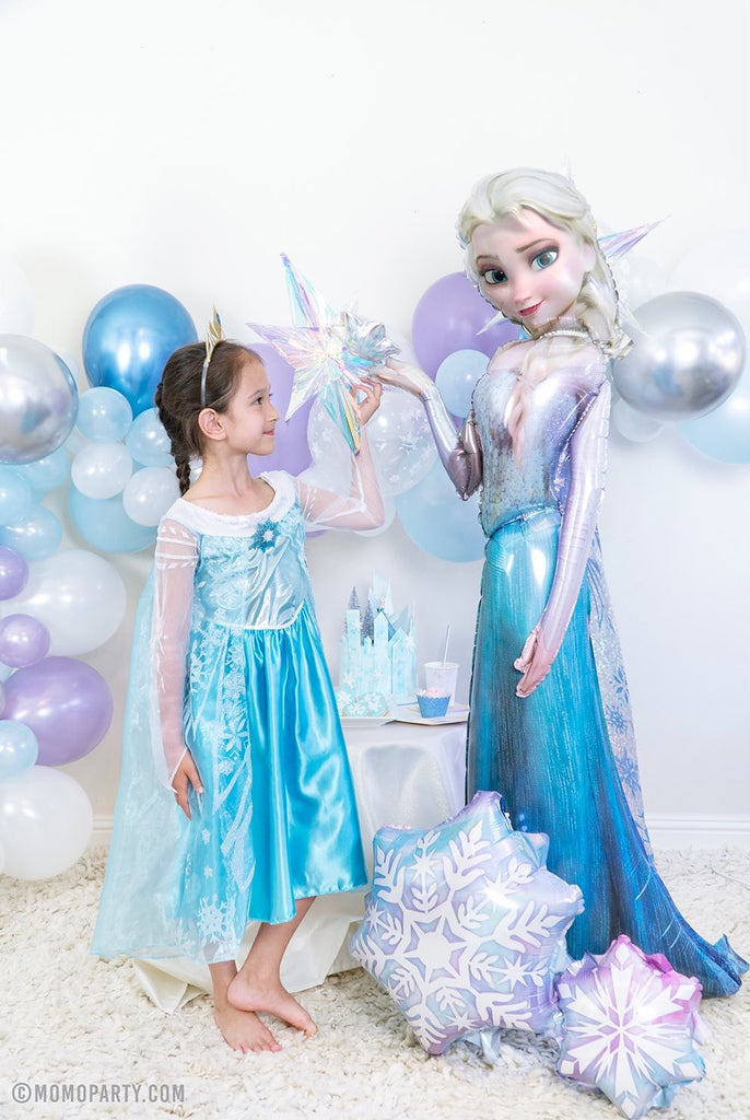 Disney Frozen Elsa Airwalker Foil Balloon for a Girl's birthday Party