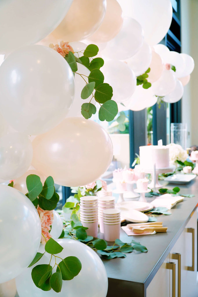Girl Baby Shower Decoration Set Up