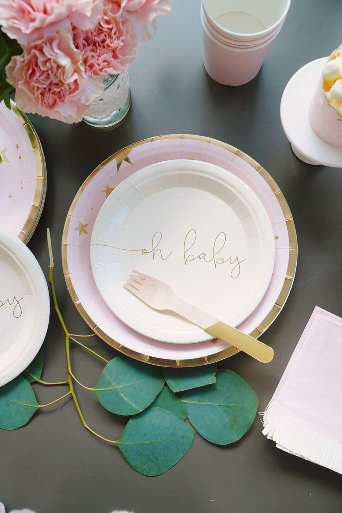 Girls baby shower Tablesetting Ideas