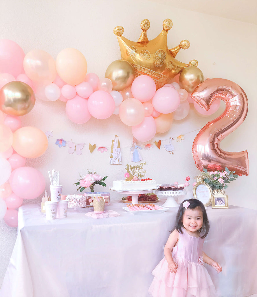 Girls Princess 2nd Birthday Party Ideas
