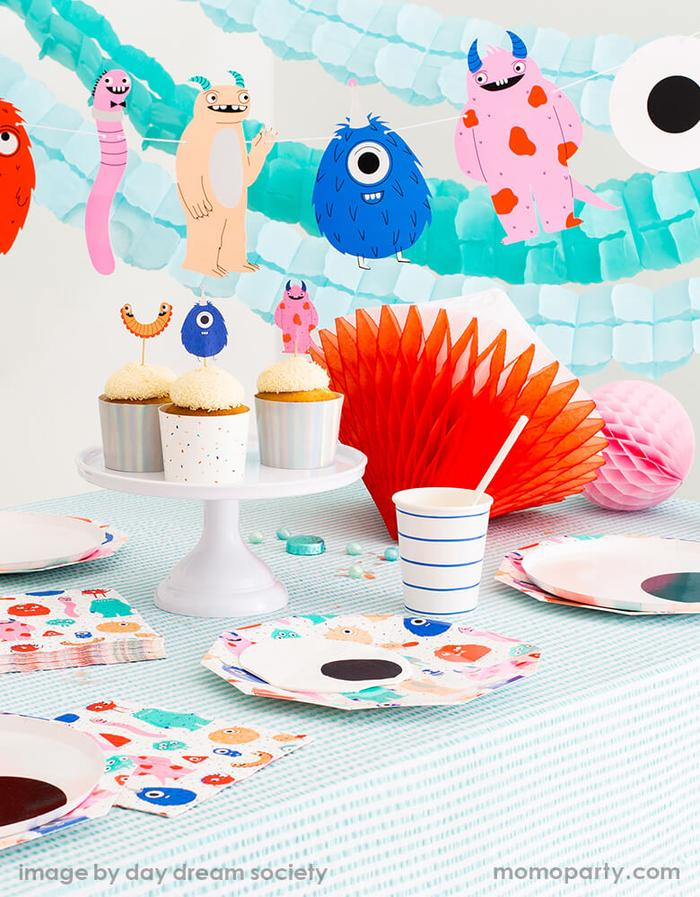 Halloween Little-Monsters-Party Set Up Ideas