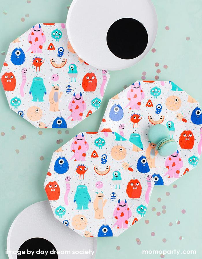 Halloween Little-Monsters-Tableware by Momo Party