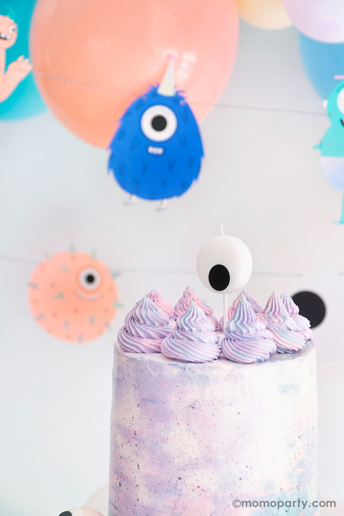 Halloween Little Monsters Birthday Cake Ideas by Momo Party