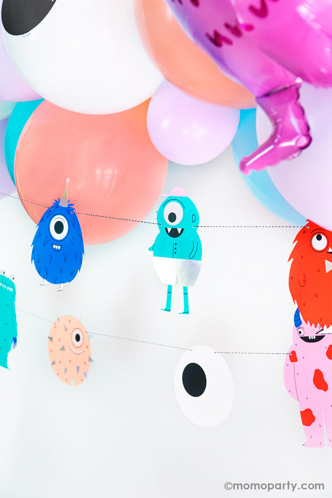 Halloween Little_Monsters Birthday Party Decoration Ideas by Momo Party