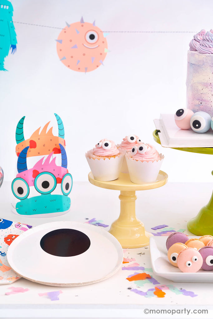 Halloween Little Monsters Birthday Party Treat Ideas by Momo Party