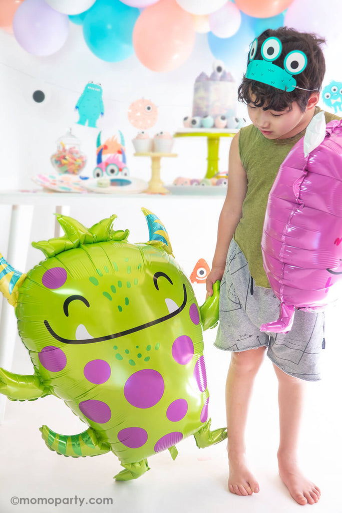 Halloween Little Monsters Party Monster Balloons by Momo Party