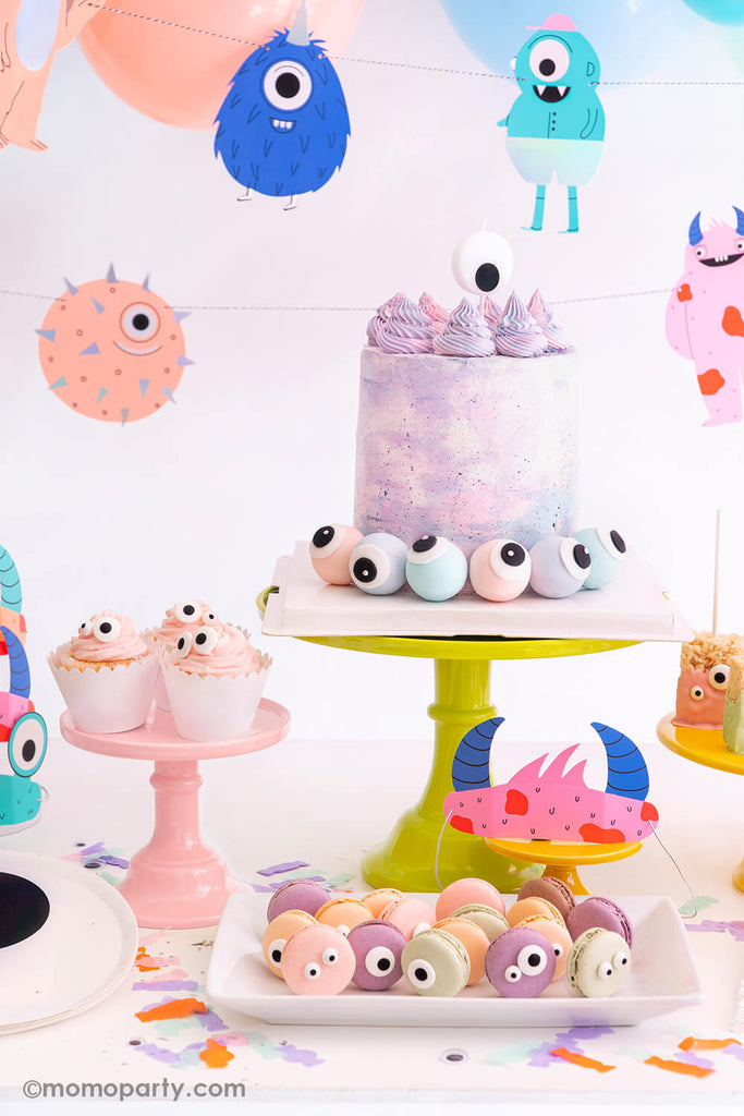 Halloween Little_Monsters Party Treats & Snacks Ideas by Momo Party