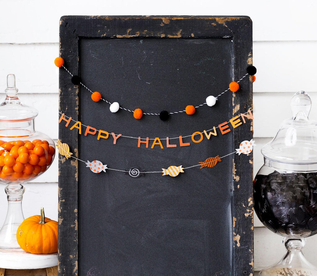 Safe Halloween Ideas Halloween Mini Banner for Trunk or Treat