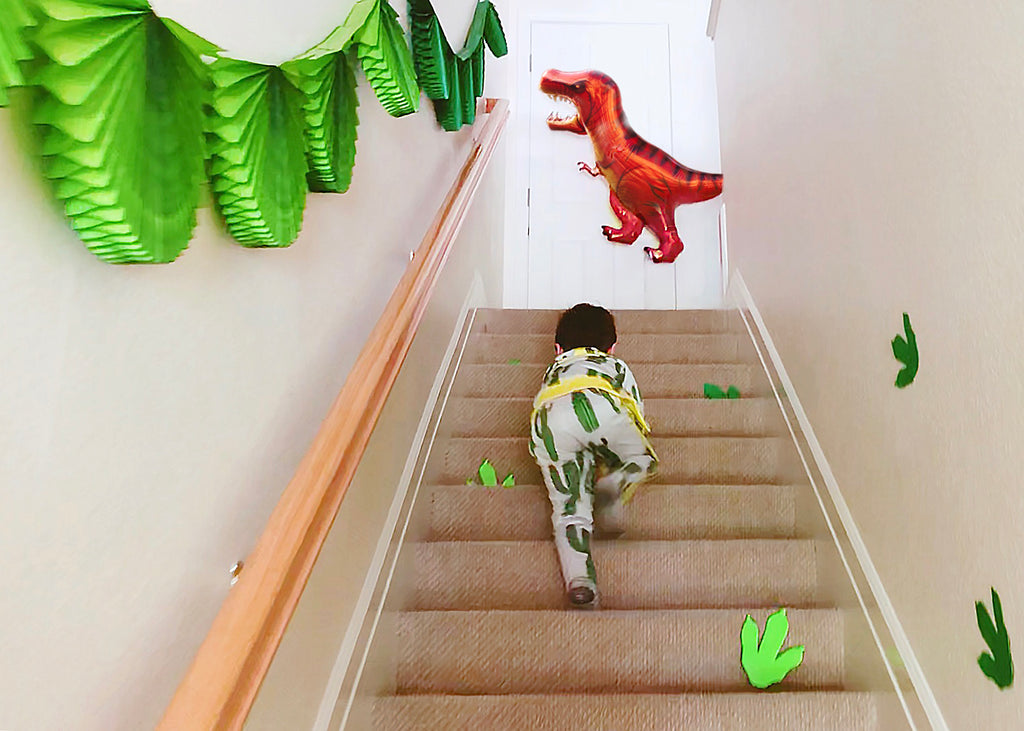 Kids Dinosaur Birthday Party Printables Dinosaur Footprints