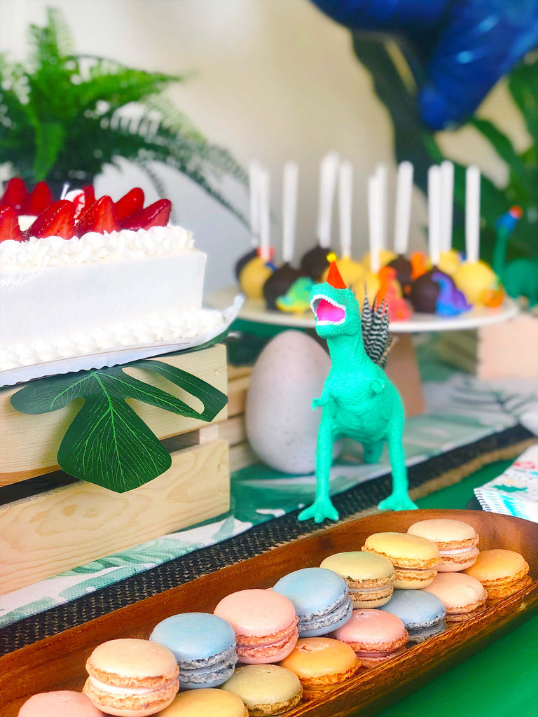 Kids Dinosaur Party Cake Table Decorations Props