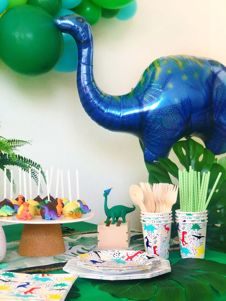Kids Dinosaur Birthday Party Supplies Themed Tableware Decorations
