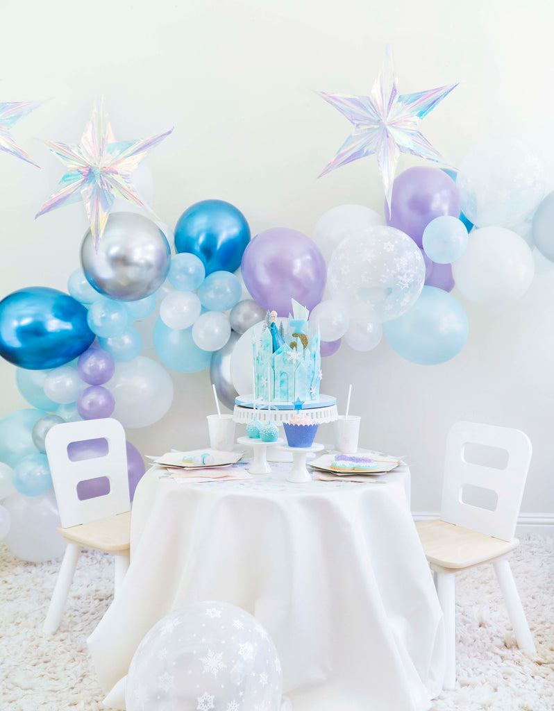 Girls Frozen Birthday Party Decoration Ideas