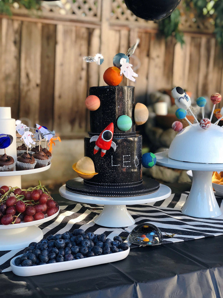 Kids Space Birthday Party Cake Design