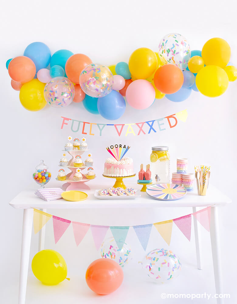 Happy Vaccine Day Fully Vaccinated Party Ideas by Momo Party