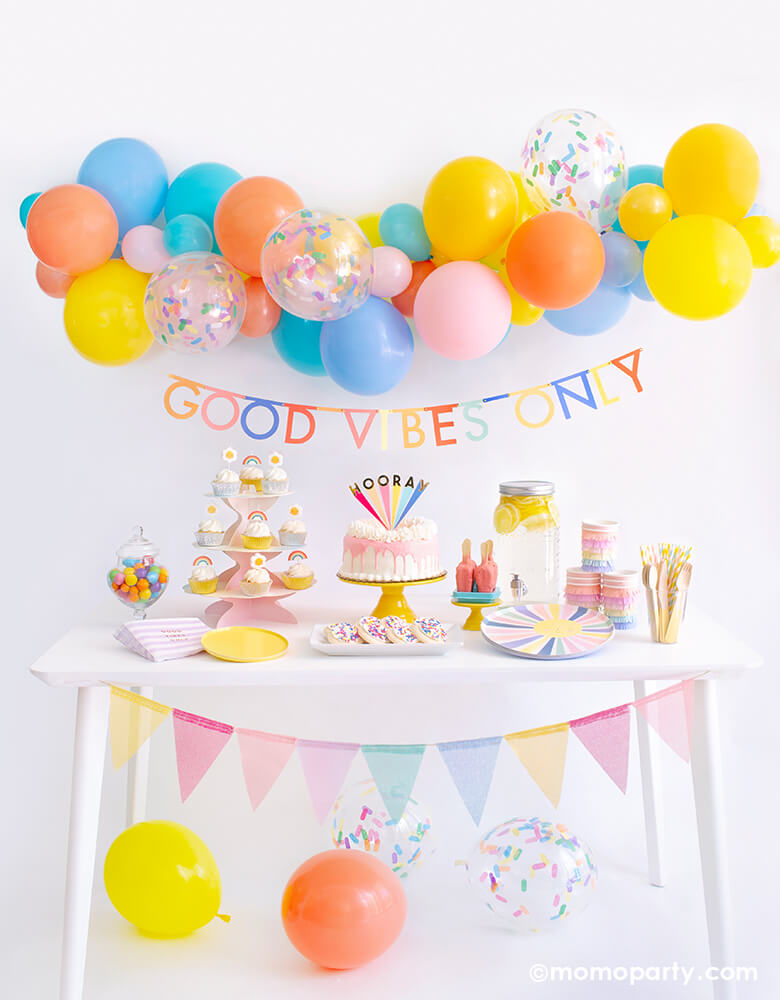 Good Vibes Only Party Box by Momo Party