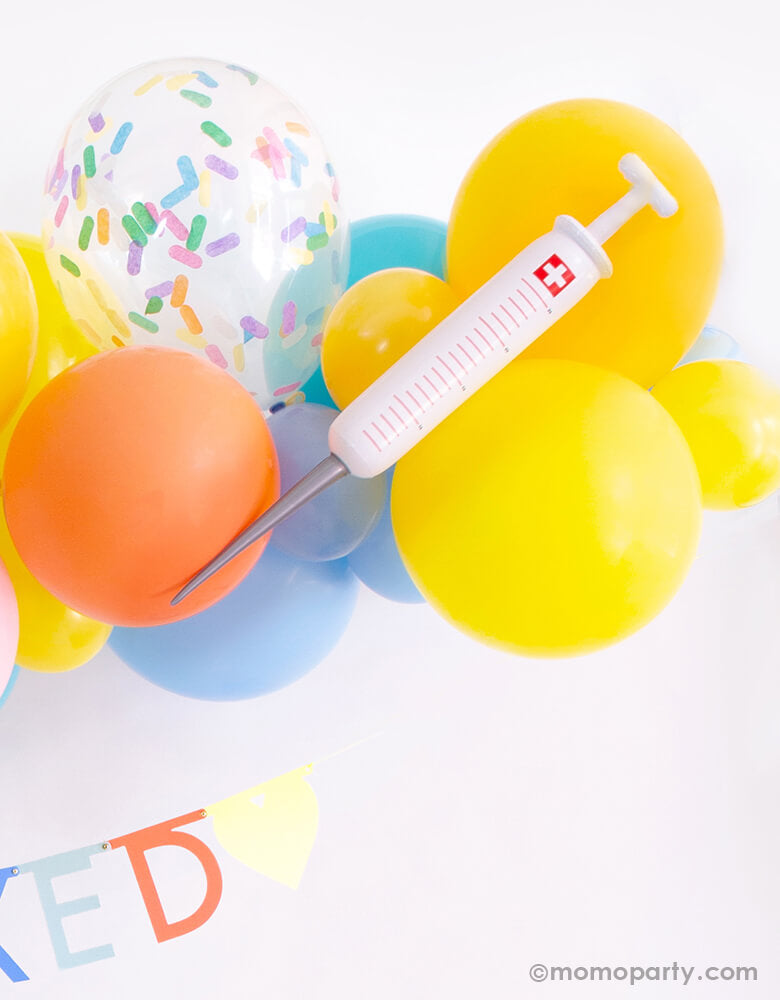 Happy Vaccine Day Fully Vaccinated Post Covid Party Ideas by Momo Party