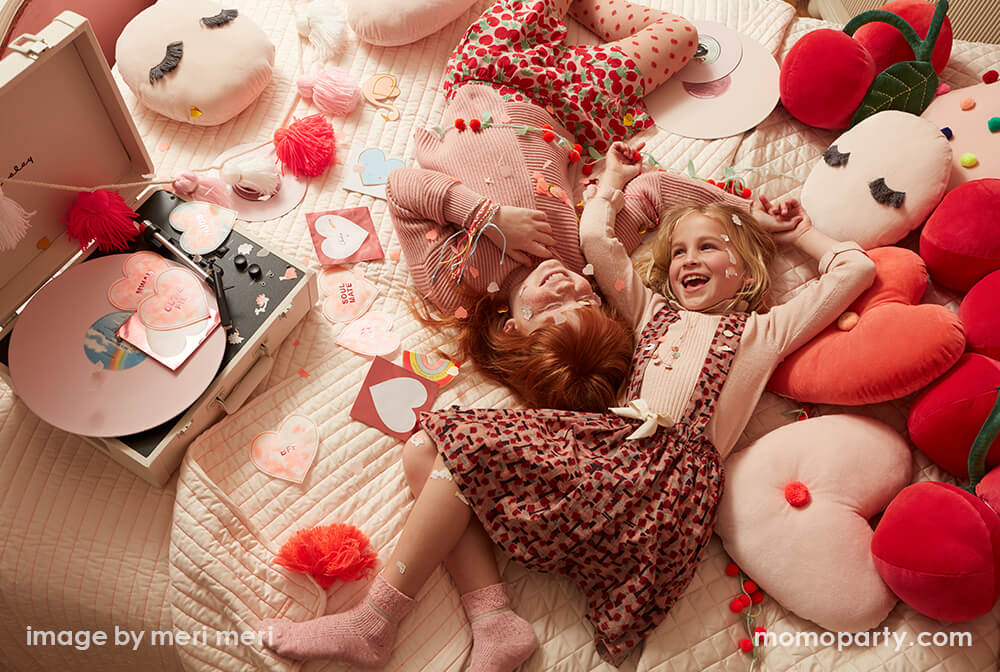 Valentine's Day Galentine's Day Celebrations with Kids by Momo Party