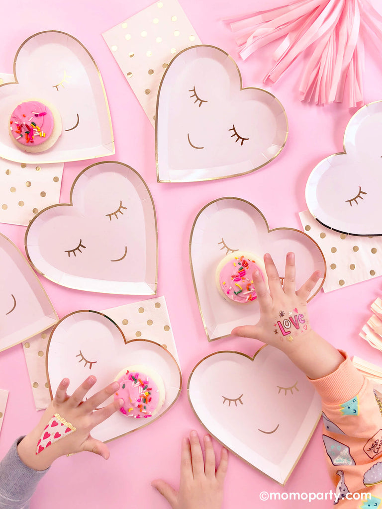 Ideas for Valentine's Day Celebration with Kids by Momo Party