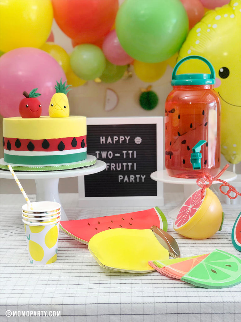 Summer Fruit Themed Party Decorations by Momo Party