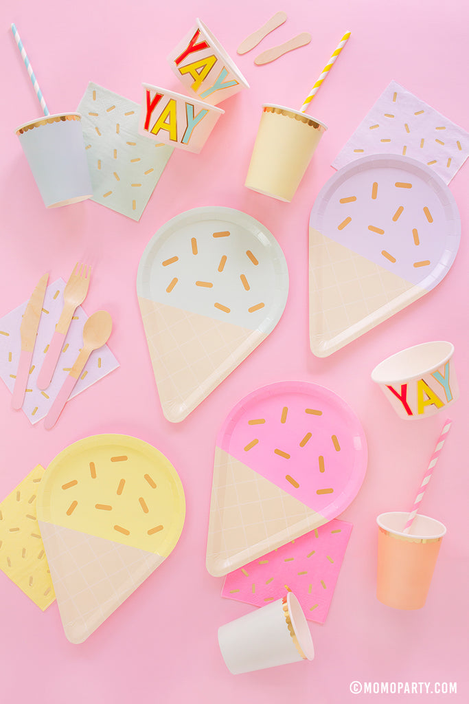 Summer Party Ideas Ice Cream Soriee by Momo Party