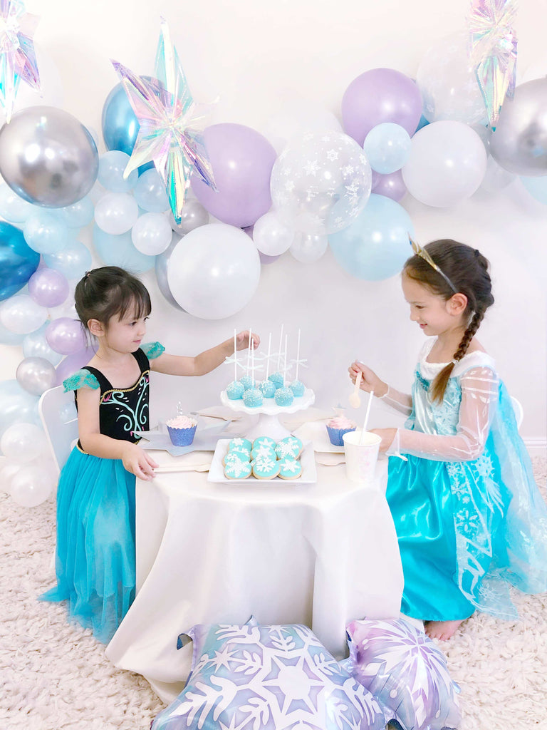 Shelter in Place Birthday Party At home Ideas_Frozen Birthday Party