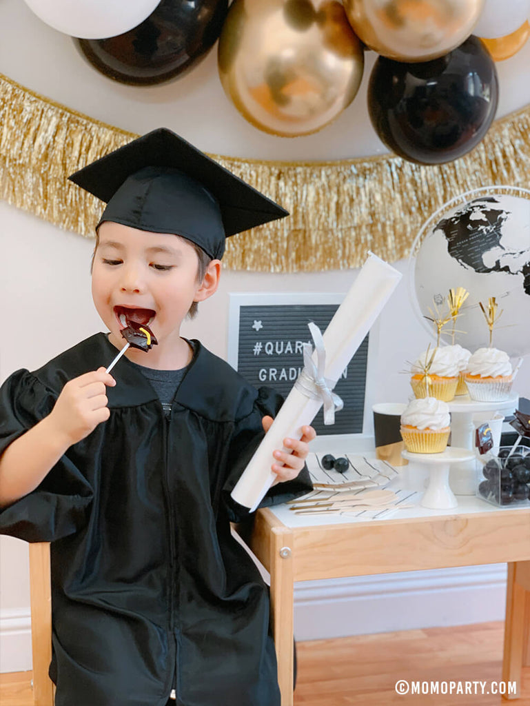 Preschool Graduation Party at Home Dessert Ideas by Momo Party