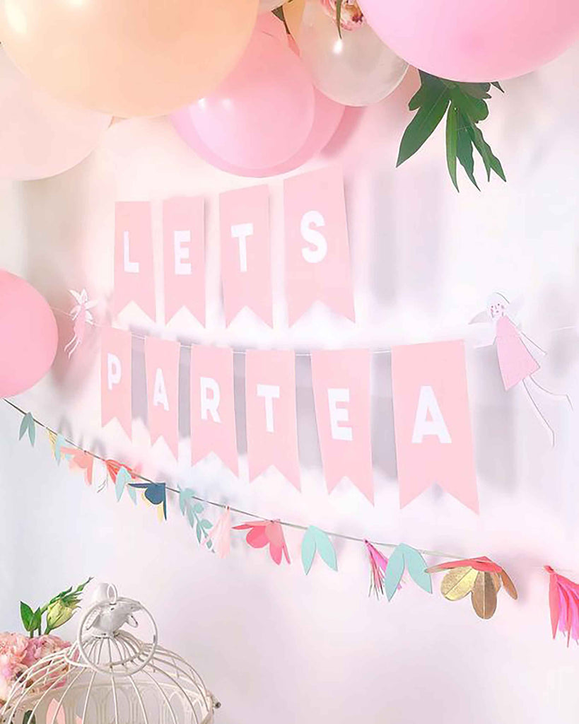 Safe at Home Party At Home Letter Banner Decoration Ideas