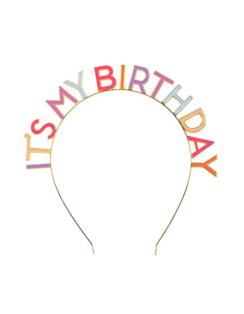 Celebrate from Home Rose-It's-My-Birthday-Headband