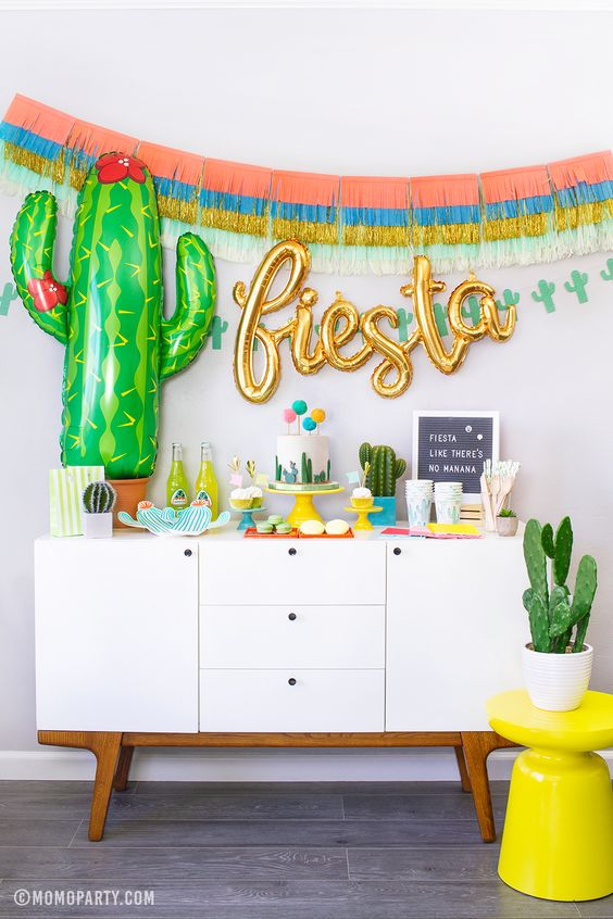 Taco Twosday 2nd Birthday Fiesta Party Ideas