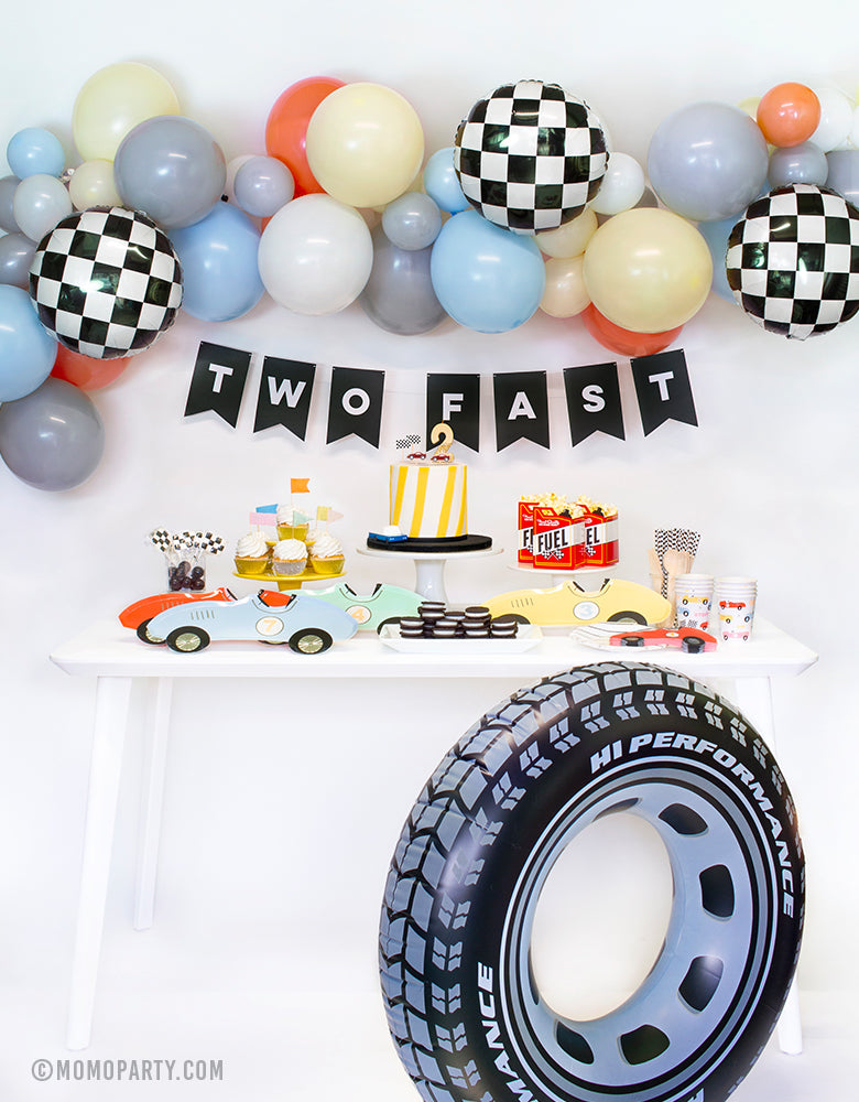Toddler Boys Birthday Party Ideas Two Fast Race Car Theme