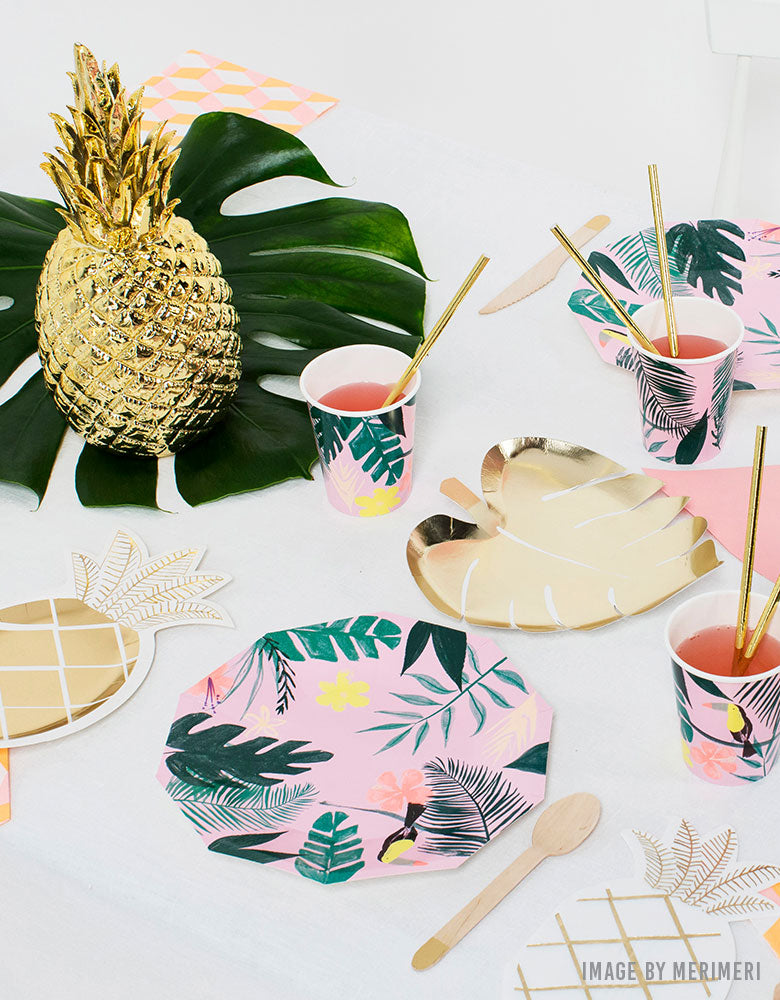 Summer Fun with Kids Tropical Party Ideas by Momo Party