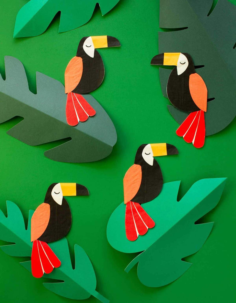 Two-can 2nd Birthday Party Ideas Toucan Napkins