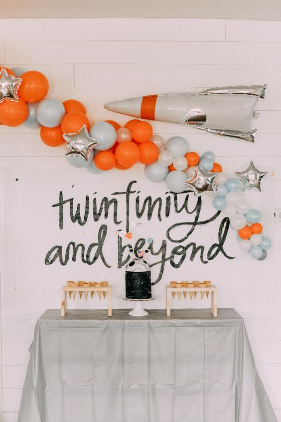 Two The Infinity and Beyond Themed 2nd Birthday Ideas