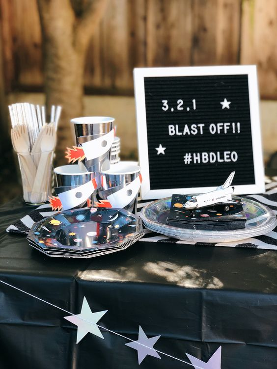 Two The Moon Birthday Party Ideas