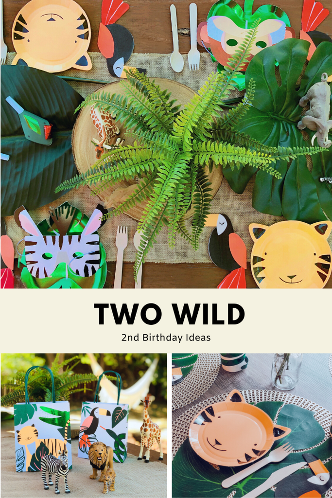 Two Wild Theme 2nd Birthday Party Ideas