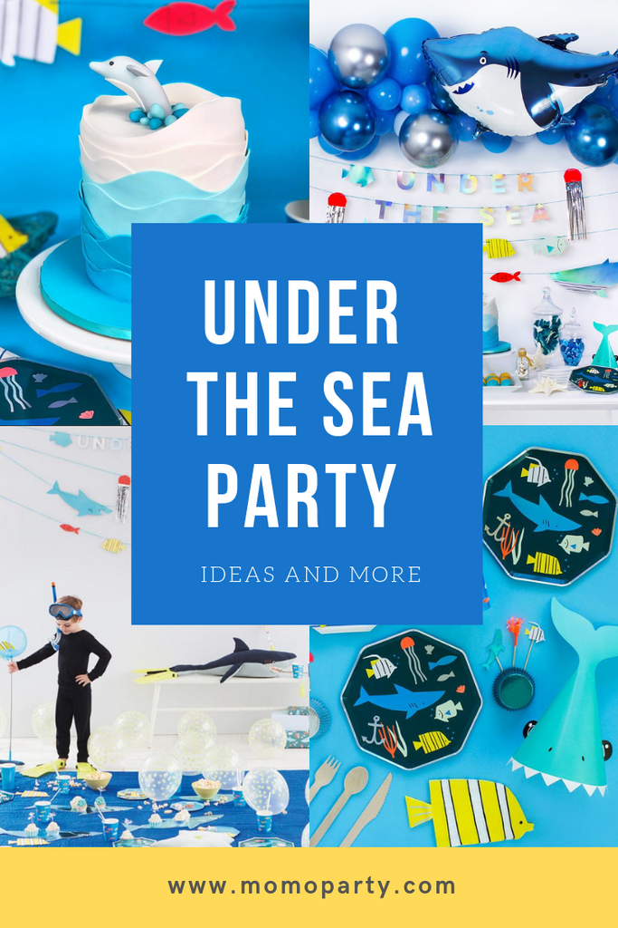 Summer Fun! Under The Sea Party Ideas by Momo Party