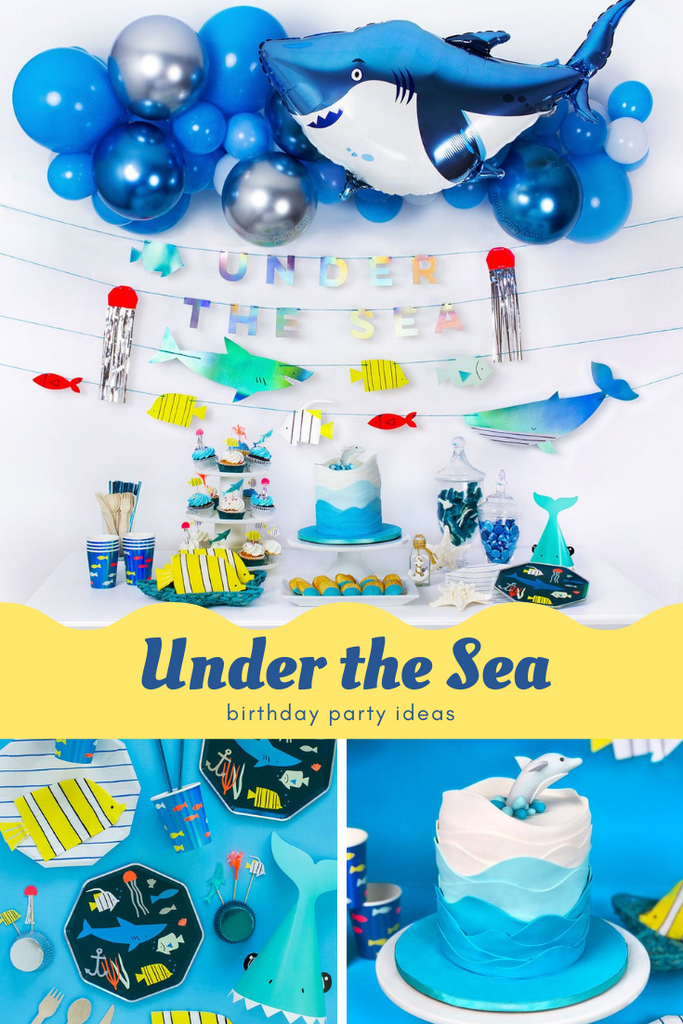 Under the Sea First Birthday Party Ideas_Baby Shark Party