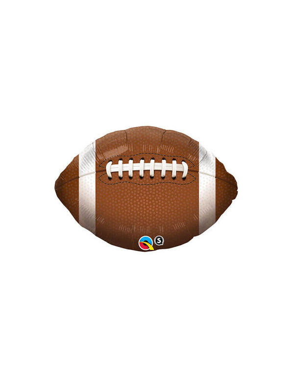 "Qualatex 18"" Junior Football Foil Mylar Balloon"