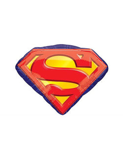 26'' Superman Emblem Foil Balloon