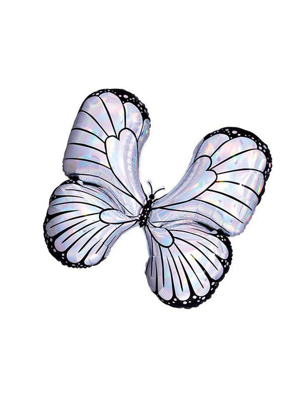 "30""_Iridescent-Butterfly-Foil-Balloon_Butterfly Party Ideas"